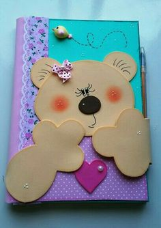 Foam Crafts, Diy And Crafts, Paper Crafts, Diy Baby Gifts, Foam Sheets, Cute Cartoon Wallpapers, Notebook Covers, Baby Art, Animal Cards