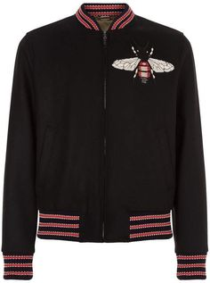 Gucci Embroidered Bumble Bee Jacket #ad #bee #bees# Gucci