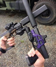ALG  Twin Glock Twin suppressors