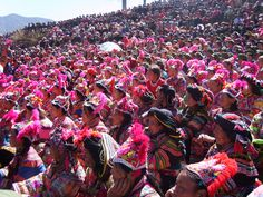 """The oldest village """"T"""" stage in the world——the Zhiju Costume Competition Festival in the Chuxiong Yi Autonomous Prefecture of #Yunnan,China."""