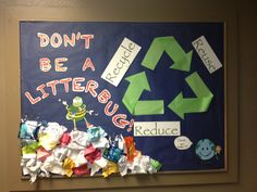 Civility bulletin board for sustainability month from my lovely CA