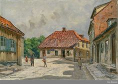 Er dette hammersborg torg ca 1900 Museum, Painting, Art, Art Background, Painting Art, Kunst, Paintings, Performing Arts, Painted Canvas