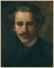 Milan MILOVANOVIĆ  Self-portrait (1902)  Spomen-zbirka Pavla Beljanskog