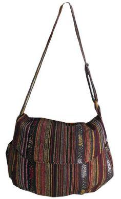 Handbag Nepali Embroidery Cotton Hippie Hobo Crossbody Messenger Boho Bag Hmong Camera Purse HMM26