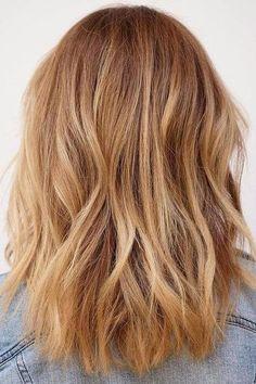Strawberry Blonde with Light Balayage