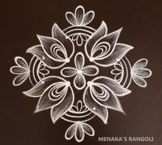 Simple Rangoli Border Designs, Rangoli Simple, Indian Rangoli Designs, Basic Mehndi Designs, Rangoli Designs Latest, Rangoli Designs Flower, Free Hand Rangoli Design, Small Rangoli Design, Rangoli Patterns