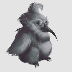 #concept #art #character #animator #bird #character #photoshop #digital  #drawing #digitalart