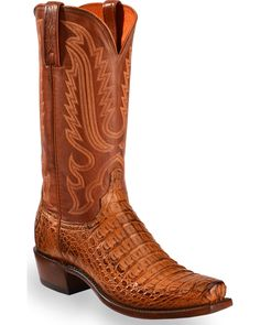 Become a part of history when you purchase a pair of boots from Lucchese. Lucchese has catered to movie stars, singers, politicians, and even members of Best Cowboy Boots, Cowboy Boots Square Toe, Custom Cowboy Boots, Cowboy Gear, Western Boots, Western Outfits, Western Cowboy, Western Wear, Mens Shoes Boots