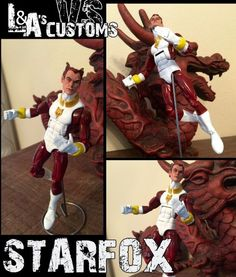 L&A's TOY SHOP/CUSTOMS - Custom Starfox Custom Action Figure