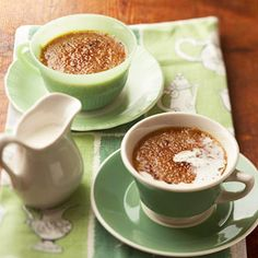 Creme Bru-latte | This creamy dessert combines two favorite treats into one. It features the flavors of a latte put into a delicious creme brulee.