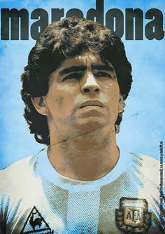 """Diego Maradona one of the best players there have lived and he is most known for """"gods hand"""""""