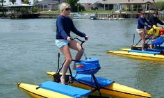 Groupon - 2hr Rental of One Tandem Hydrobike or Two Single Hydrobikes for 2 at Paddleboard New Smyrna Beach (Up to 72% Off) in Paddle Board New Smyrna Beach. Groupon deal price: $28
