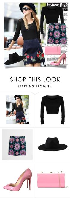 """Casual"" by betty-boop23 ❤ liked on Polyvore featuring J.Crew, Element, Christian Louboutin and Rocio"