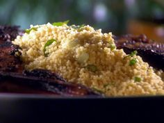 Minted Couscous Recipe : Sunny Anderson : Food Network - FoodNetwork.com
