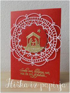 Hiška iz papirja: Pesem za božič
