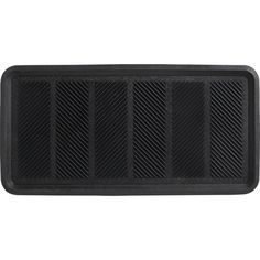 Herringbone Boot Tray in Doormats   Crate and Barrel