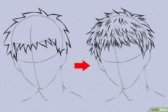 Anime Haare zeichnen – wikiHow