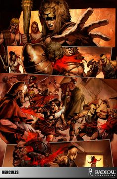 """Excerpt from Radical Publishing's """"Hercules: The Thracian Wars."""" To learn more about Radical's """"Hercules,"""" visit RadicalPublishing.com/titles/Hercules"""