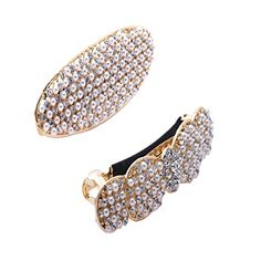 2 pcs Pearl Hair Clips for women Hair Barrette with rhinestone *** Visit the image link more details.(This is an Amazon affiliate link)