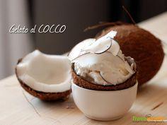 Gelato al cocco fresco  #ricette #food #recipes