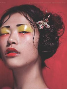 chen hong jin by chen man for i-D pre-spring 2012    this is one of my favorite images of all time