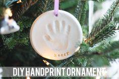 diy handprint ornament