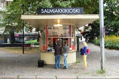 Finnish liquorice @ Salmiakkikioski – Housed in an old-fashioned kiosk with a visor-shaped roof | Photo: Emilia Kangasluoma
