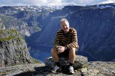 Olav Lepsøe on a trip to Trolltunga, Odda Norway.