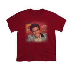 Elvis Presley - Jailhouse Rock 45 Youth T-Shirt