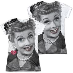 Lucy - Timeless Junior All Over Print 100% Poly T-Shirt