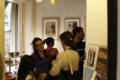Movimento a IPazzi per il Vernissage Oltre il ritratto mostra fotografica dell'autrice Aurora Giampaoli, artista della Scuderia Livin'art