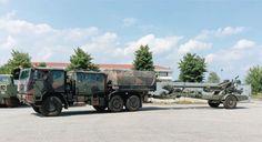 fh70 155/39mm al traino di Astra SMR 66.40 CAD traino artiglieria