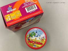 Carrie's Speech Corner: Product Review: Tell Tales Fairy Tales by Blue Orange Games