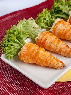 bread carrots soo cool!!