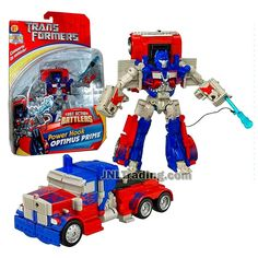 Transformer Year 2006 Fast Action Battlers Series 6 Inch Tall Figure - Power Hook OPTIMUS PRIME with Power Hook Launcher (Vehicle Mode: Rig Truck) Transformers Action Figures, Transformers Robots, Pool Toys And Floats, Spiderman Car, Transformers Collection, Rescue Bots, Thundercats, Optimus Prime, Neymar