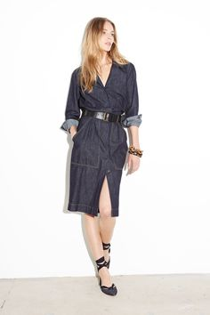 Tomas Maier Resort 2015. Another keeper. Wear up or wear down.. Just so effortless.