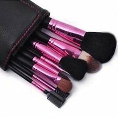 8 Professional Brush /Makeup brush sets /Wool /Beauty tools by taoli. $38.60. Brush handle Specifications: pole. Size: 9cm * 24cm. Bristles Material: wool. Category: makeup brush sets. 1.These brushes are like butterfly kisses, give you a pleasure to use     2.Cosmetic Brush make you much more beautiful                                 3.Portable design            4.best cosmetic tools for powder  5.The makeup brush set is easy to carry and use. Save 16%!