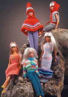 Knitting Dolls Free Patterns, Knitted Dolls Free, Crochet Hats, Barbie Clothes Patterns, Clothing Patterns, New Dolls, Ooak Dolls, Monster High Custom, Little Dresses