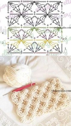 Watch This Video Beauteous Finished Make Crochet Look Like Knitting (the Waistcoat Stitch) Ideas. Amazing Make Crochet Look Like Knitting (the Waistcoat Stitch) Ideas. Crochet Motifs, Crochet Diagram, Crochet Stitches Patterns, Crochet Chart, Crochet Squares, Love Crochet, Beautiful Crochet, Crochet Designs, Crochet Lace