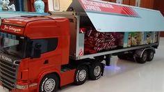 BRUDER TOYS FÜR KİNDER / Bruder RC Scania Truck with Michelin tyres