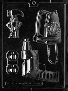 Cybrtrayd D085 Power Tools for Specialty Box Chocolate Candy Mold with Exclusive Cybrtrayd Copyrighted Chocolate Molding Instructions *** Visit the image link more details.(This is an Amazon affiliate link and I receive a commission for the sales)