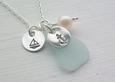 beach glass jewelry on etsy...LOVE them all!