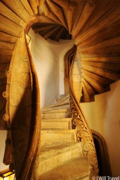 Double Spiral Stair Case