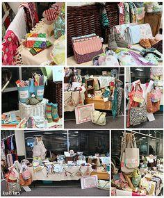 craft show collage by leaandlars, via Flickr