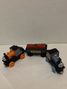 Bash  Dash Log Car Thomas and Friends Wooden Railway Gullane 2003 Logging #Gullane