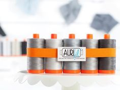 Aurifil 50wt Cotton Thread Earl Grey Collection - https://diygods.com/products/aurifil-50wt-cotton-thread-earl-grey-collection/