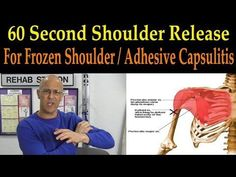 Frozen Shoulder Pain - 13 of the Best Healing Home Stretch Exercises (Dr. Alan Mandell, D.C) - YouTube