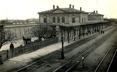 hlavní nádraží Kolín