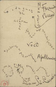 Manuscrito que faz parte da exposição sobre Mário de Sá-Carneiro na Biblioteca Nacional