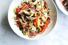 Thai-Style Slaw with (or without) Chicken recipe on Food52